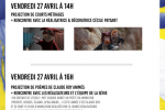 Festival du Film Court au LISA le 27 avril 2018